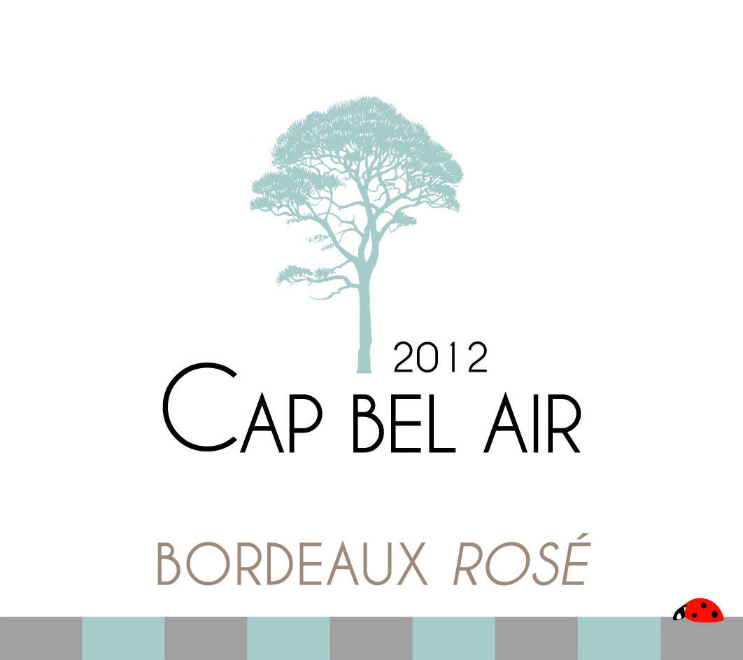 Cap Bel Air AOC Bordeaux Rosé 2012