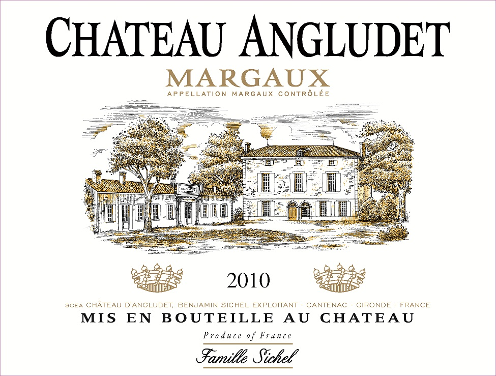 Château Angludet AOC Margaux Red 2010