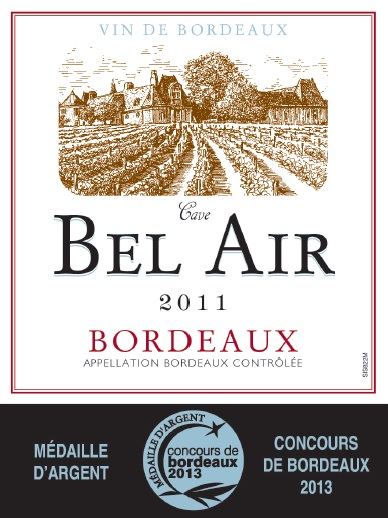 Bel-Air AOC Bordeaux Rouge 2011