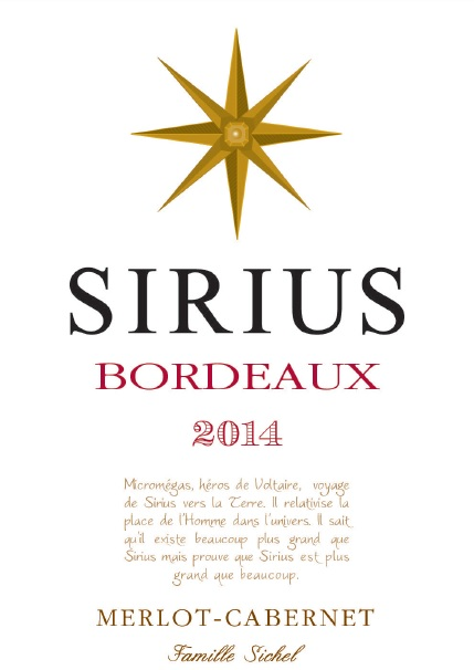 Sirius AOC Bordeaux Red 2014
