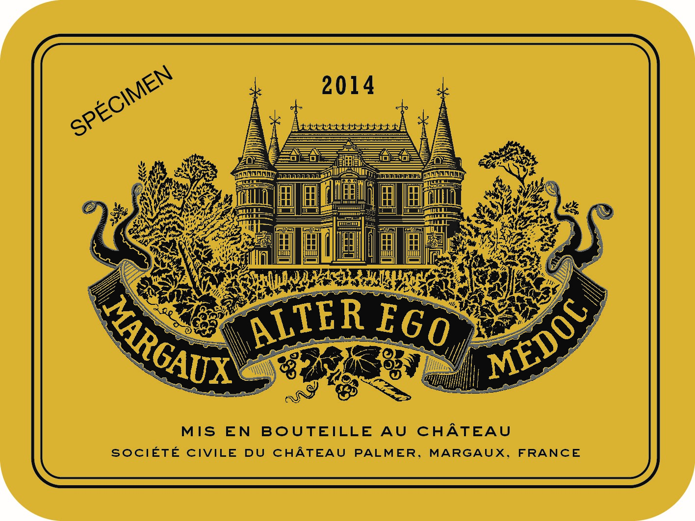 Alter Ego de Palmer AOC Margaux Red 2014