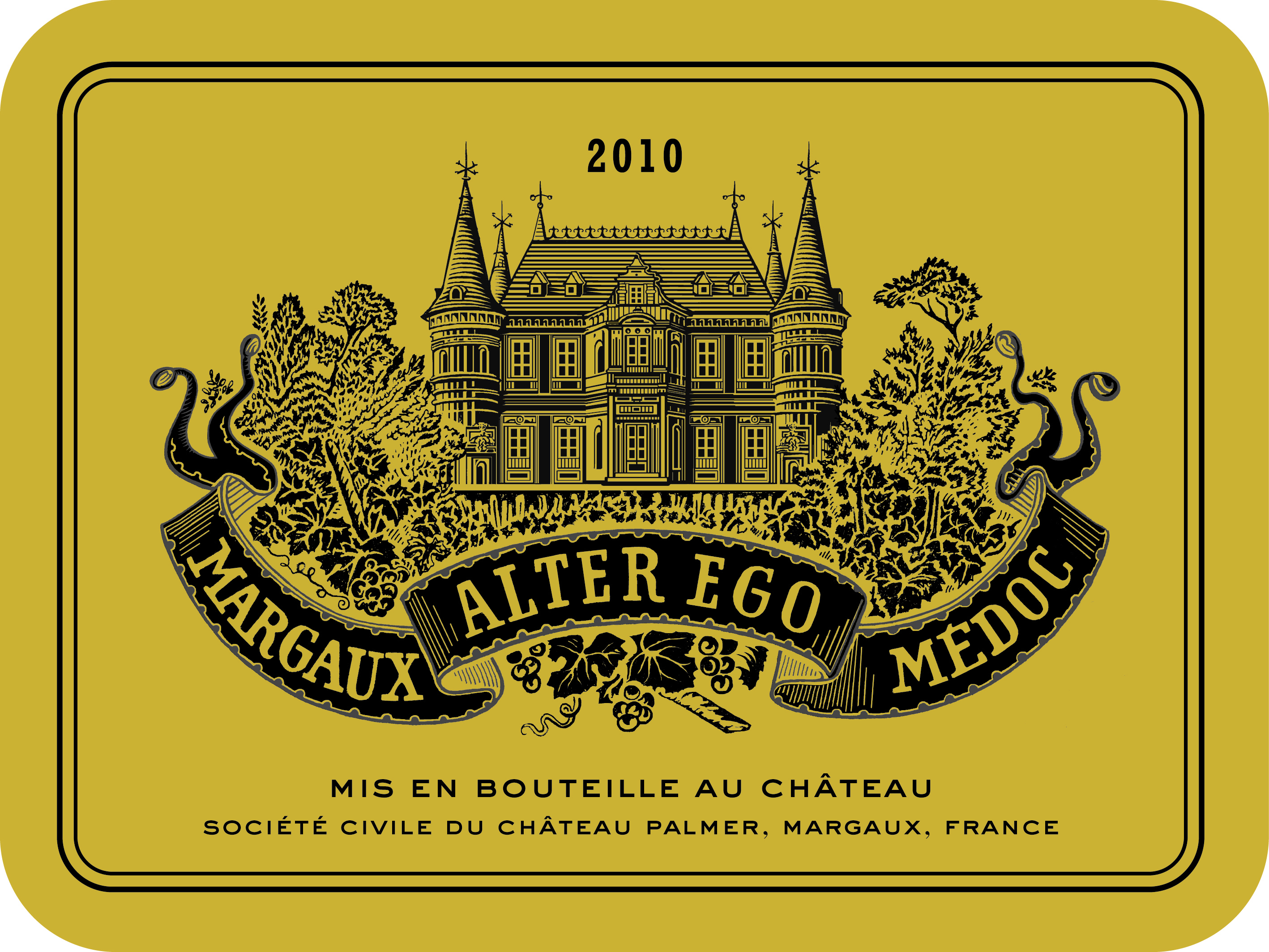 Alter Ego de Palmer AOC Margaux Red 2010