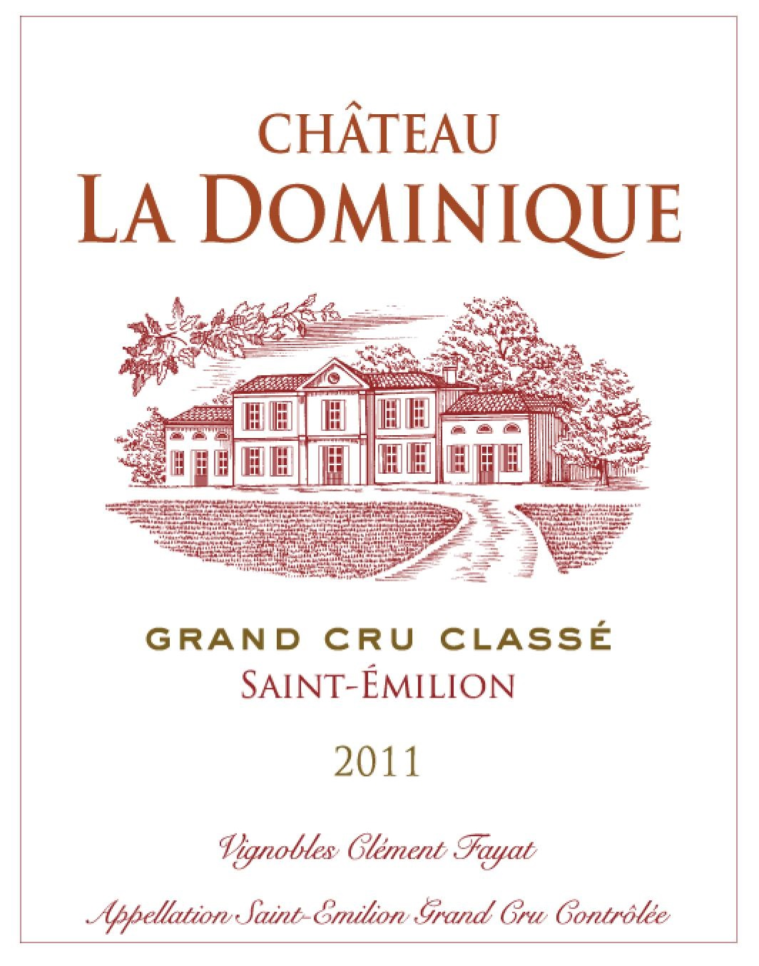 Château La Dominique AOC Saint-Emilion Grand Cru Red 2011