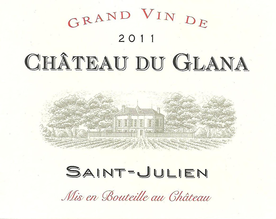 Château du Glana AOC Saint-Julien Red 2011