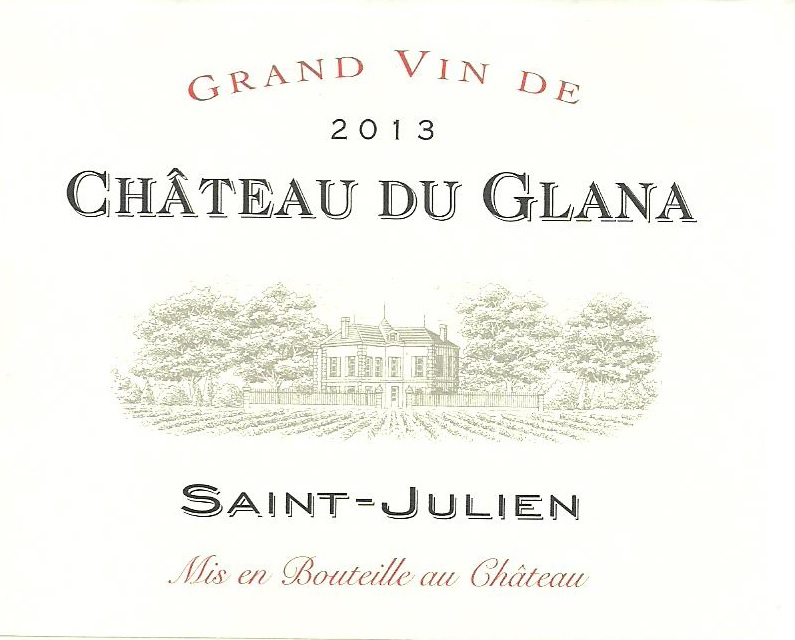 Château du Glana AOC Saint-Julien Red 2013