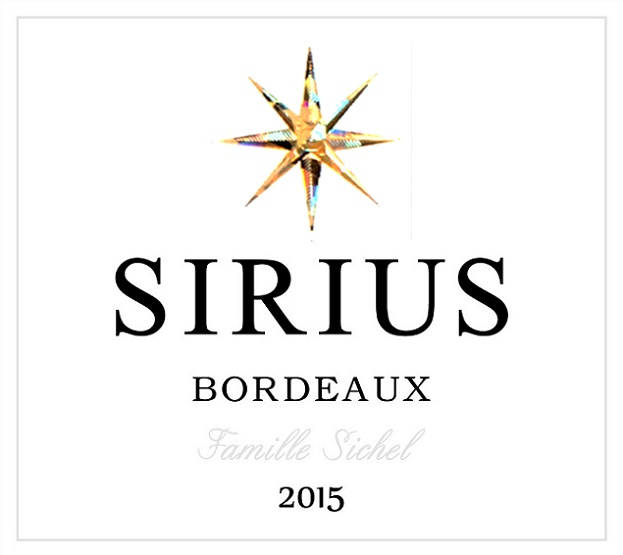 Sirius AOC Bordeaux Red 2015