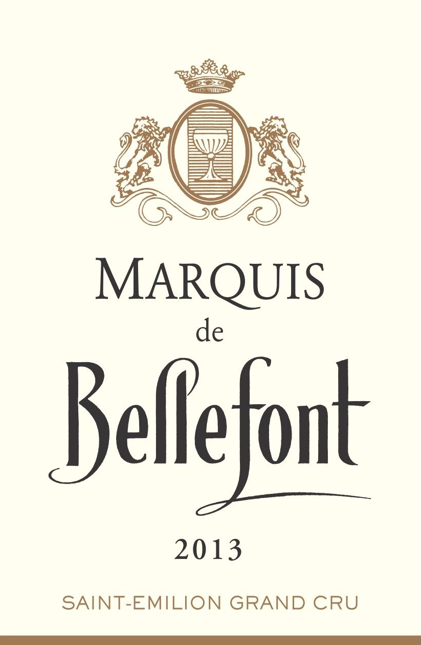 Marquis de Bellefont AOC Saint-Emilion Grand Cru Red 2013