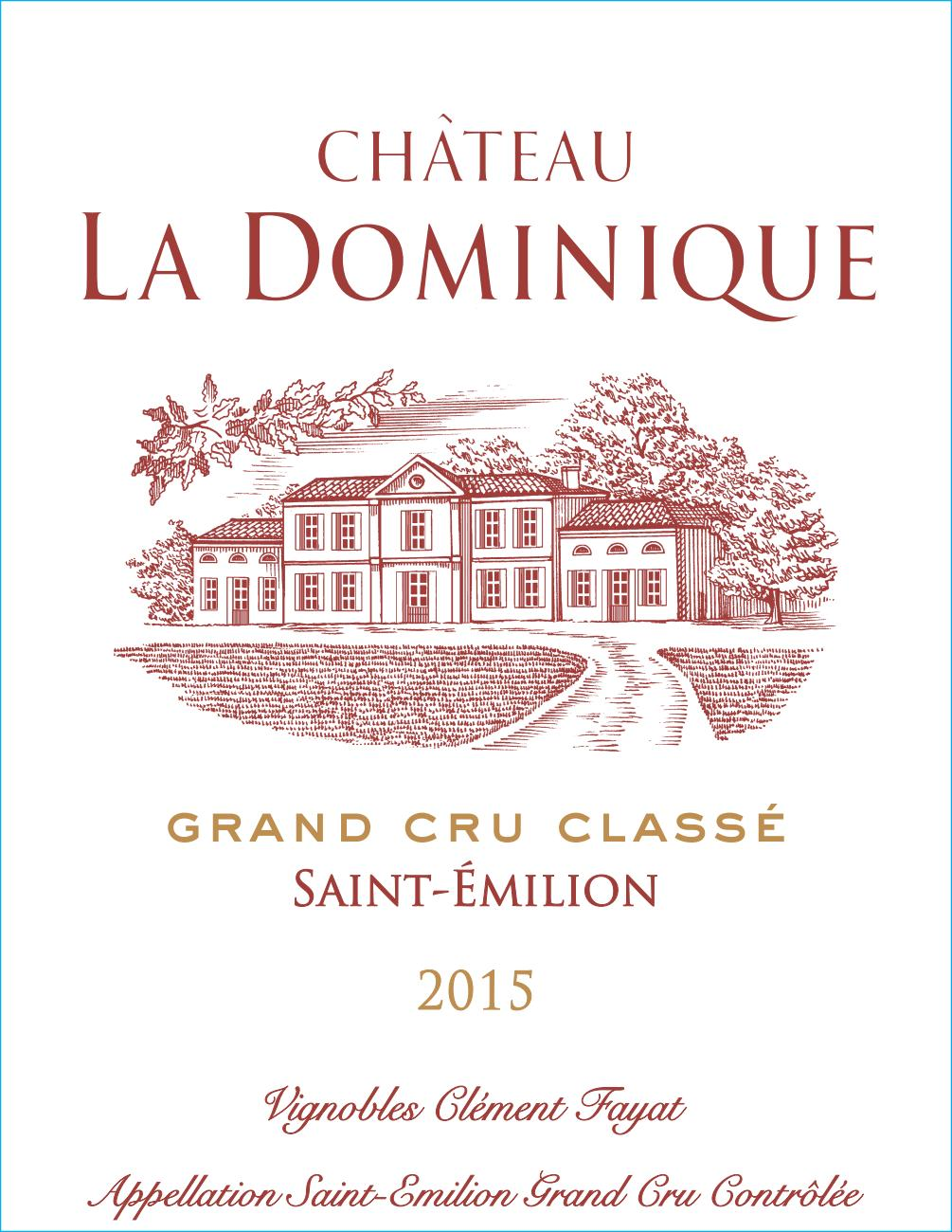 Château La Dominique AOC Saint-Emilion Grand Cru Red 2015