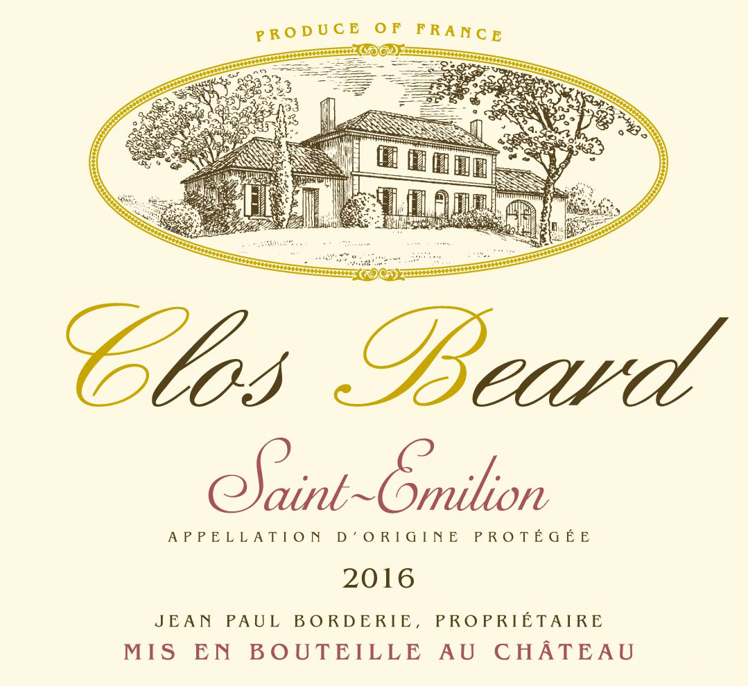 Clos Beard AOC Saint-Emilion Red 2016